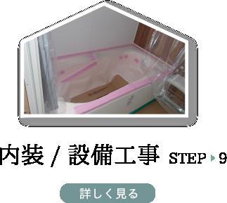 STEP9 内装/設備工事