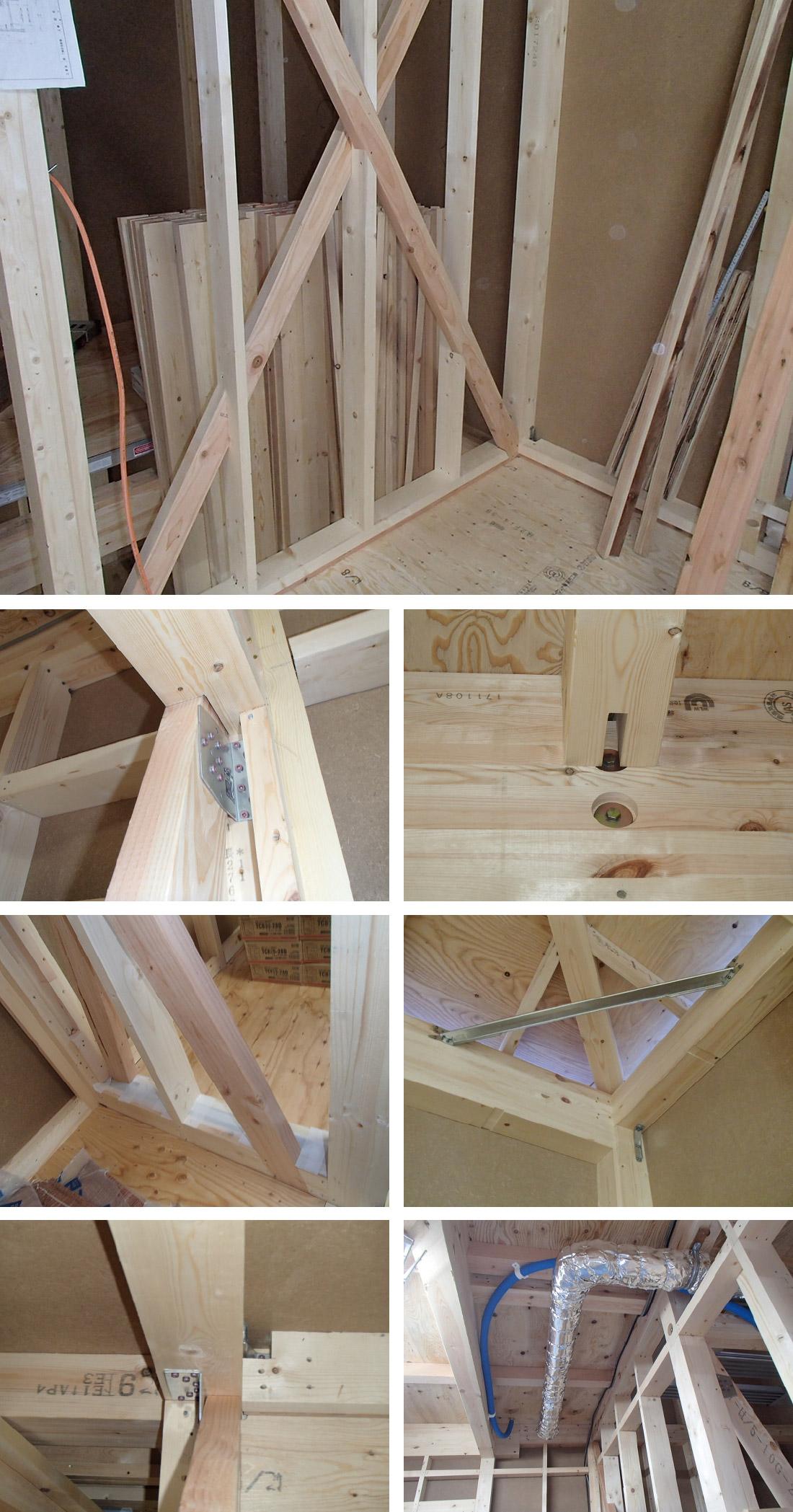 木工事(構造)の様子1