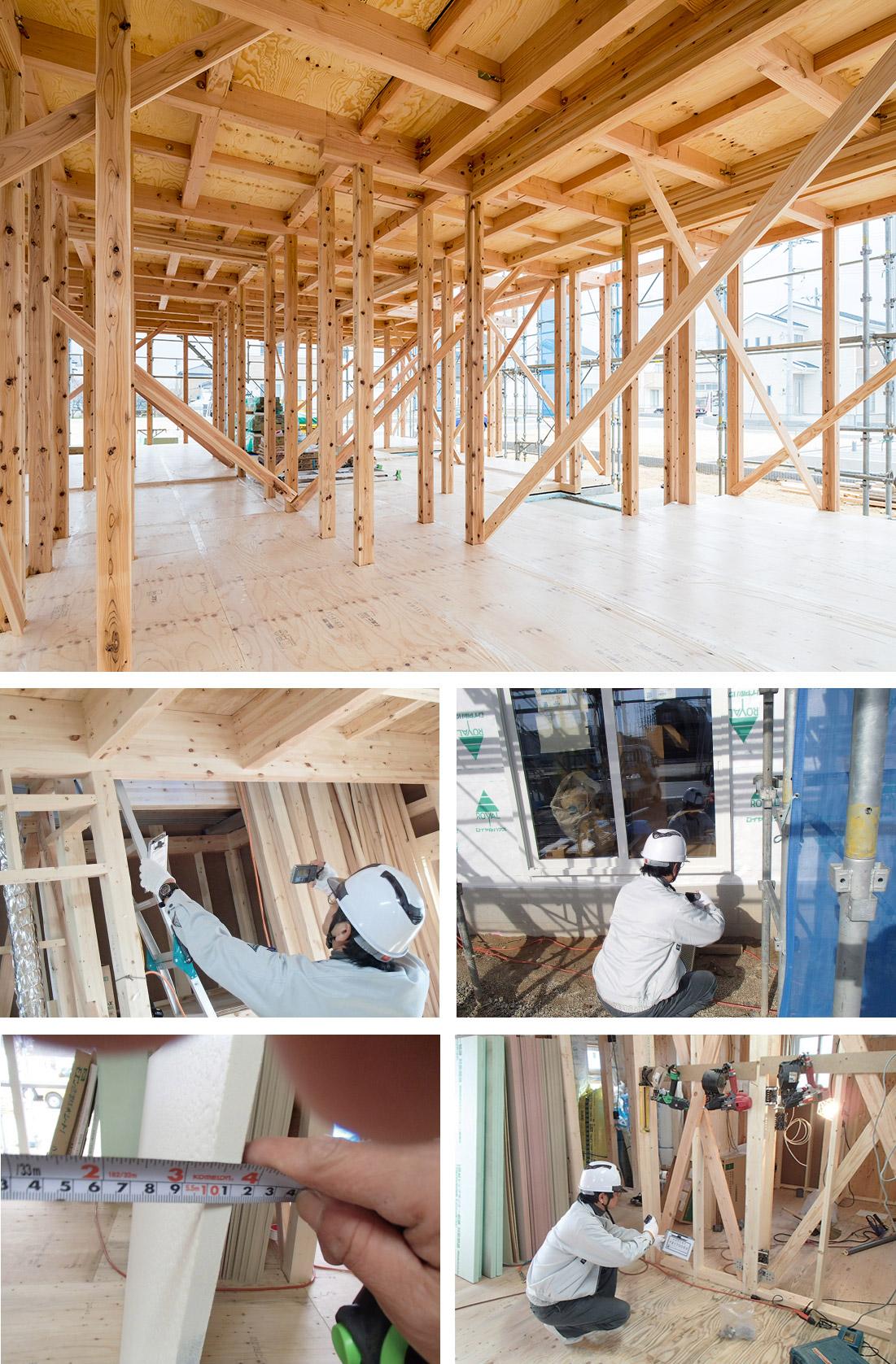 木工事(構造)の様子2