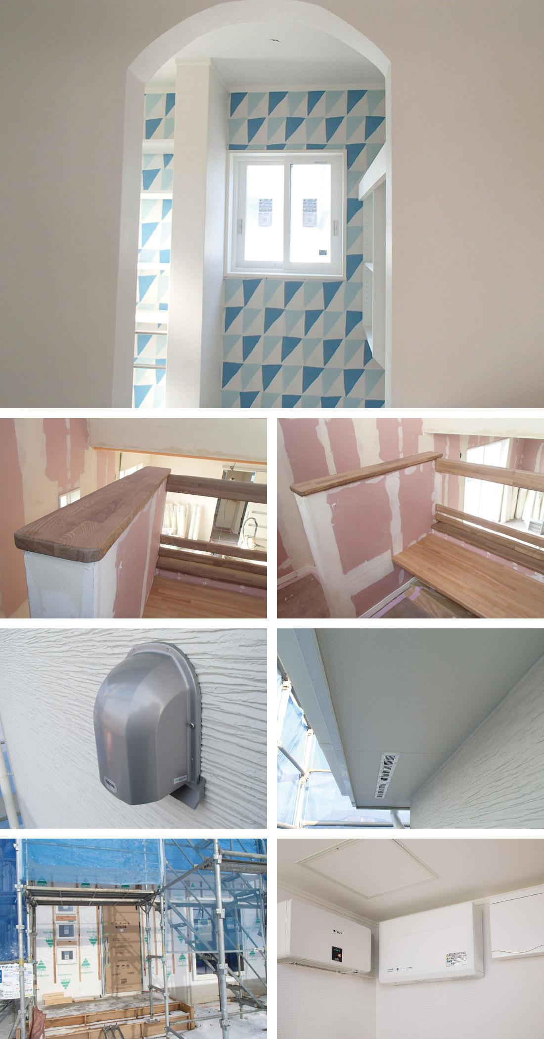 内装/設備工事の様子1
