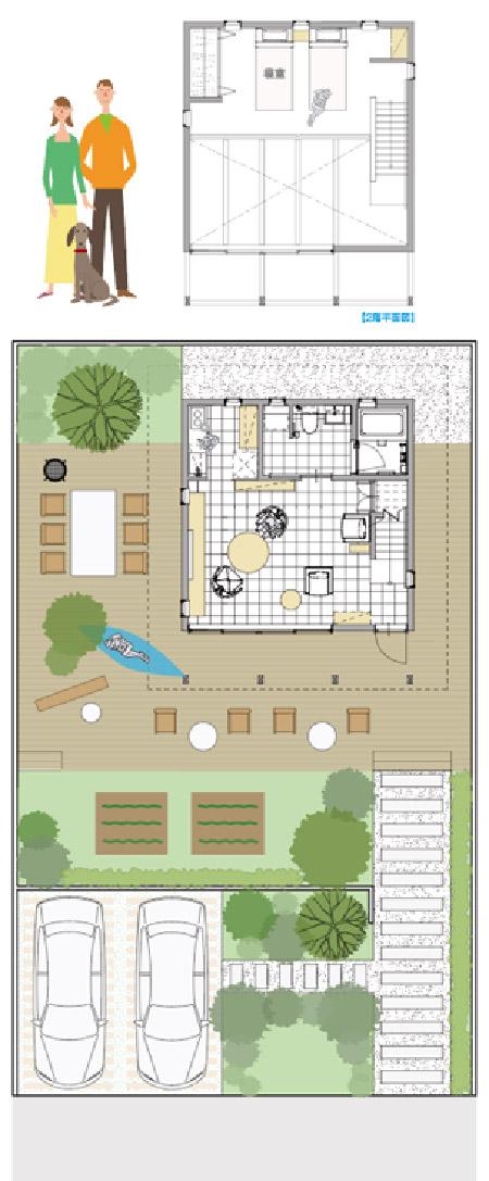 「外暮らしの家」基本プラン1