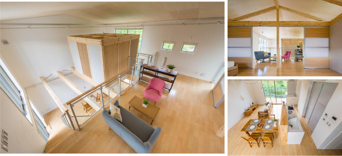 積み木の家1