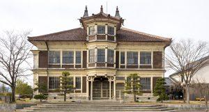 国の重要文化財 旧亀岡家住宅(保原総合公園内)